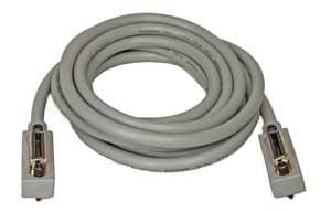 CMI 26AWG IEEE-488 GPIB Bus Interface Cable - Silver   Grey (35cm ...